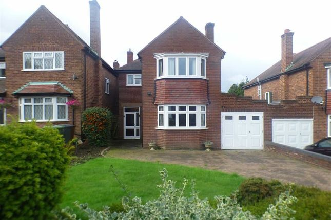 Thumbnail Detached house to rent in Woodhall Road, Penn, Wolverhampton
