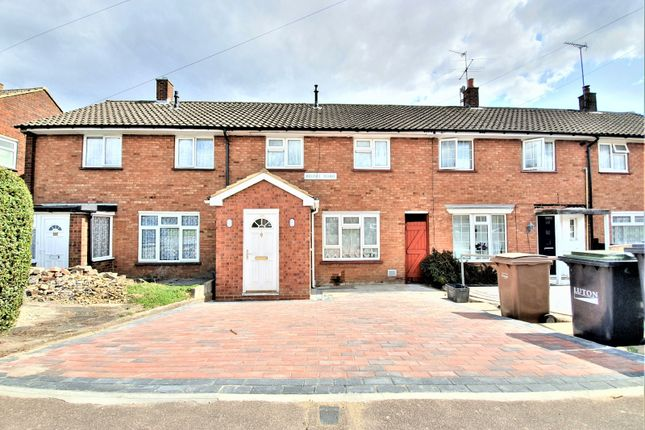 Thumbnail Terraced house to rent in Carfax Close, Luton