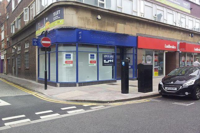 Retail premises to let in 68 Paragon Street, Hull