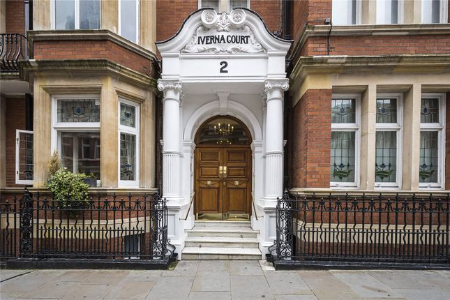Thumbnail Flat for sale in Iverna Court, London