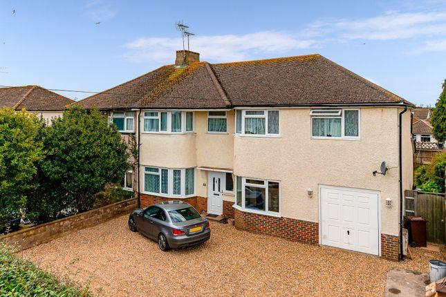 Thumbnail Semi-detached house for sale in North Lane, East Preston, Littlehampton
