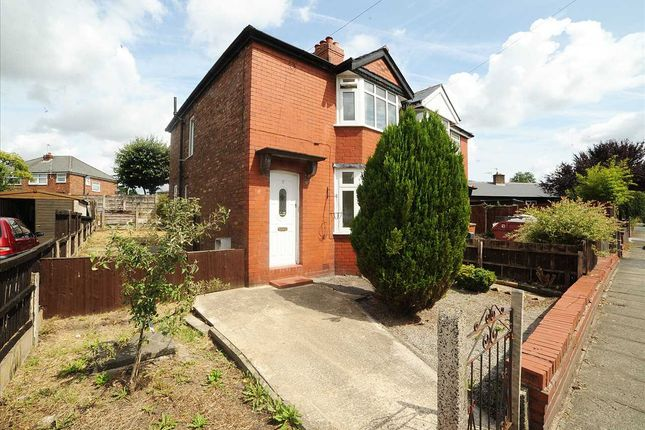Thumbnail Semi-detached house to rent in Fairfield Road, Cadishead, Manchester