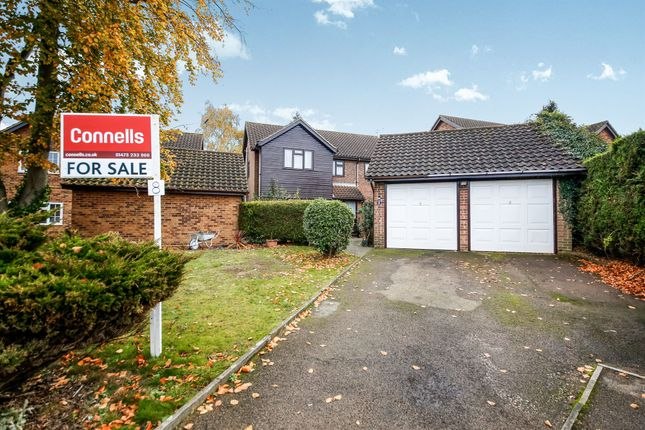 Thumbnail Detached house for sale in Sleaford Close, Ipswich