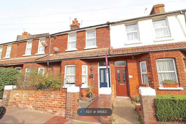 Thumbnail Terraced house to rent in Winchelsea Road, Eastbourne
