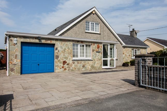 Thumbnail Detached bungalow for sale in Beach Road, Porthmadog