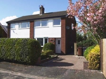 Thumbnail Semi-detached house to rent in Kirk Head, Much Hoole, Preston