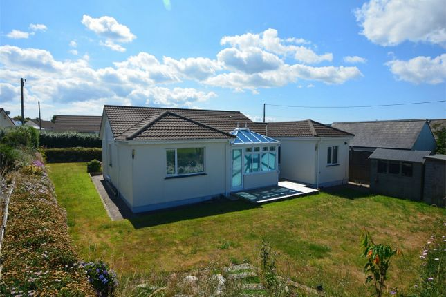 Thumbnail Detached bungalow for sale in Rosenannon Lane, Illogan Downs, Redruth, Cornwall