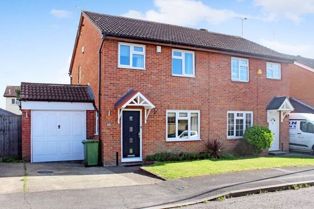 3 bed semi-detached house for sale in Pebmarsh Drive, Wickford SS12