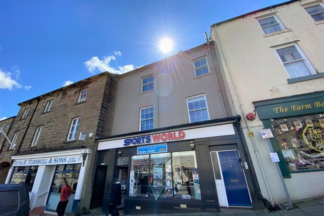 Thumbnail Flat for sale in Market Street, Alnwick