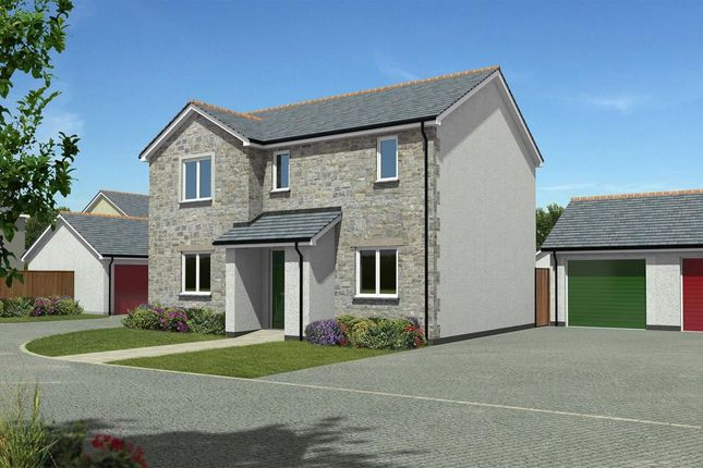 Thumbnail Link-detached house for sale in Gwel Kann, Park Bottom, Redruth, Cornwall