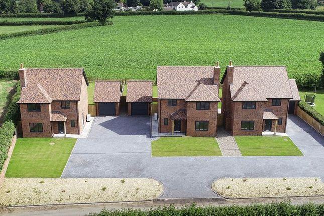 Thumbnail Detached house for sale in Hillside, Woodseaves, Market Drayton