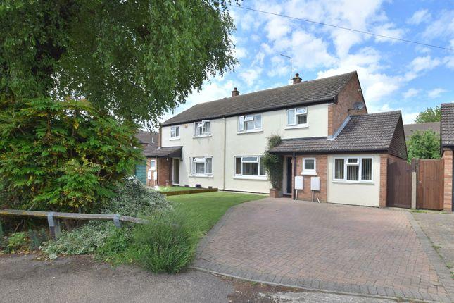 Thumbnail Semi-detached house for sale in Hansell Road, Brampton, Huntingdon