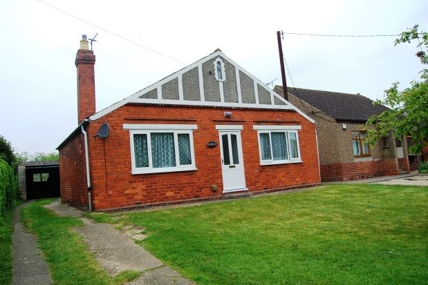 Thumbnail Detached bungalow to rent in Majalis, Scothern Lane, Dunholme, Lincoln