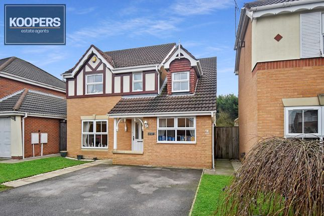 Thumbnail Detached house for sale in Oakham Drive, Selston, Nottingham