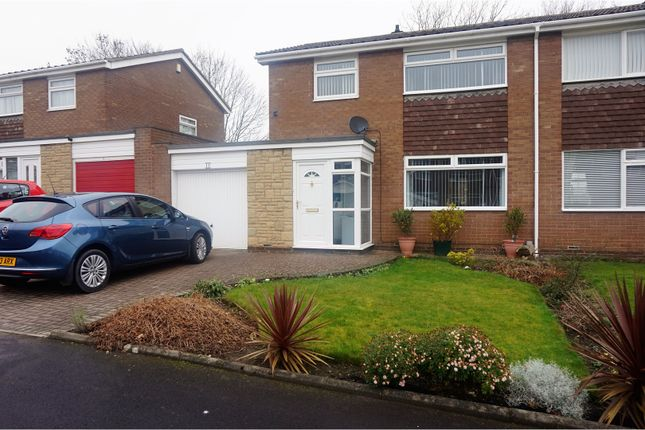 Thumbnail Semi-detached house for sale in Kelso Close, Chapel Park