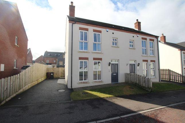 Thumbnail Semi-detached house for sale in Blackrock Drive, Newtownabbey