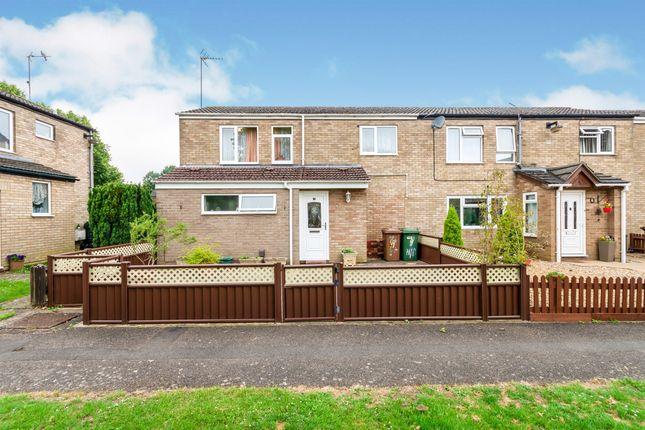 Thumbnail End terrace house for sale in Highbrook, Corby