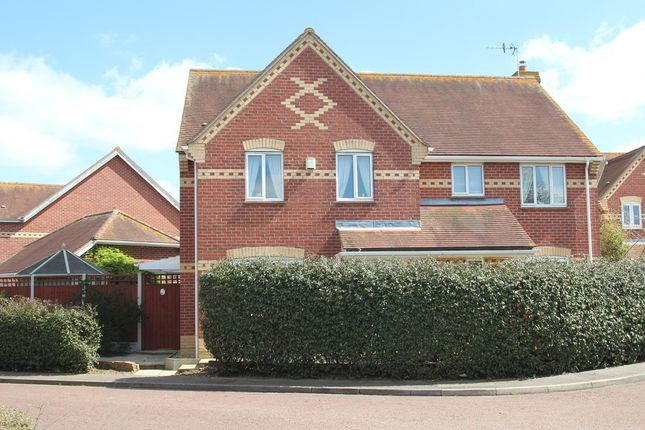 Thumbnail Detached house for sale in Barbour Gardens, Colchester