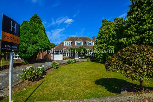 Thumbnail Detached house for sale in Haresland Close, Daws Heath, Essex