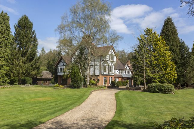 Thumbnail Detached house for sale in Bishopsgate Road, Englefield Green, Egham, Surrey