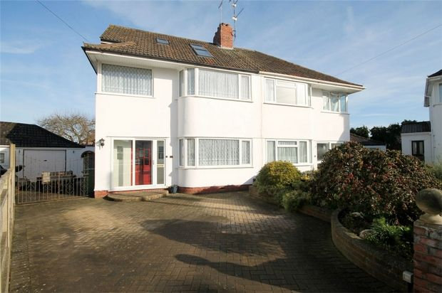 Thumbnail Semi-detached house for sale in Cleeve Gardens, Downend, Bristol