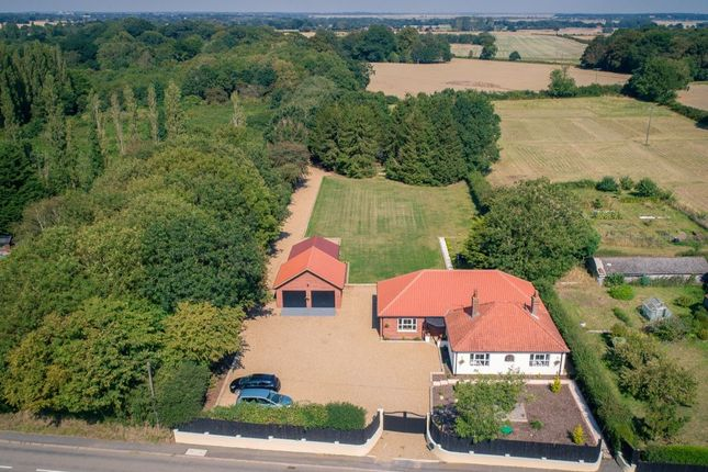 Thumbnail Bungalow for sale in Rectory Road, Aldeby, Beccles