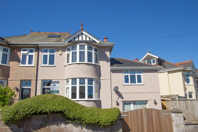 Thumbnail Semi-detached house for sale in Hill Lane, Hartley, Plymouth