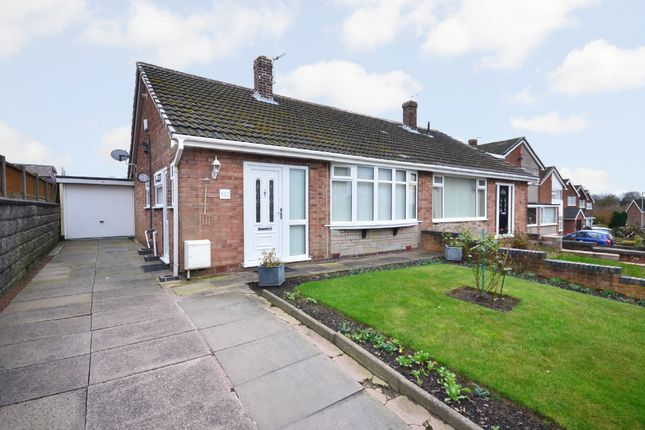 Semi-detached bungalow for sale in Westsprink Crescent, Westonfields, Stoke-On-Trent