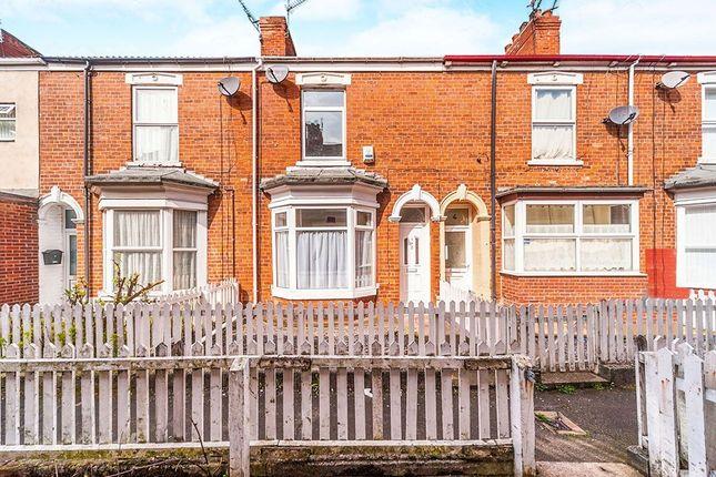 Thumbnail Terraced house for sale in Ormington Villas, Field Street, Hull