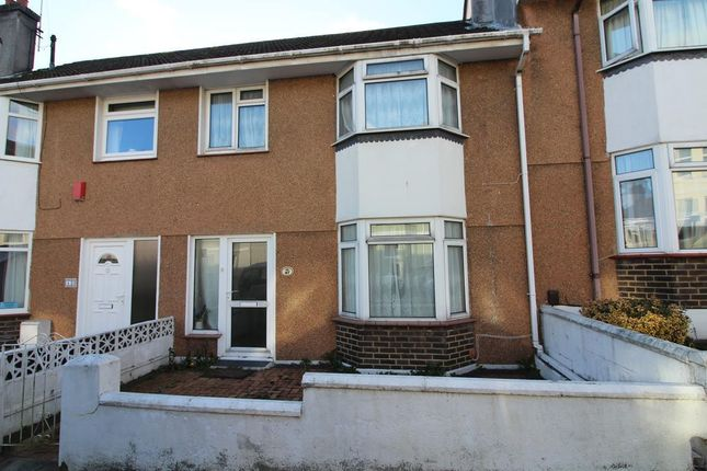 Thumbnail Terraced house for sale in Baring Street, Plymouth