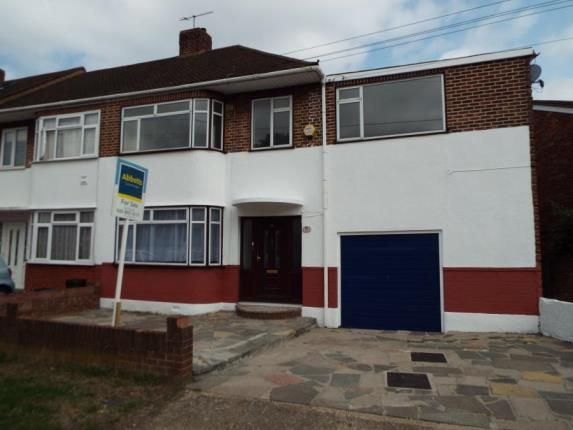 Thumbnail Semi-detached house for sale in Hainault, Essex