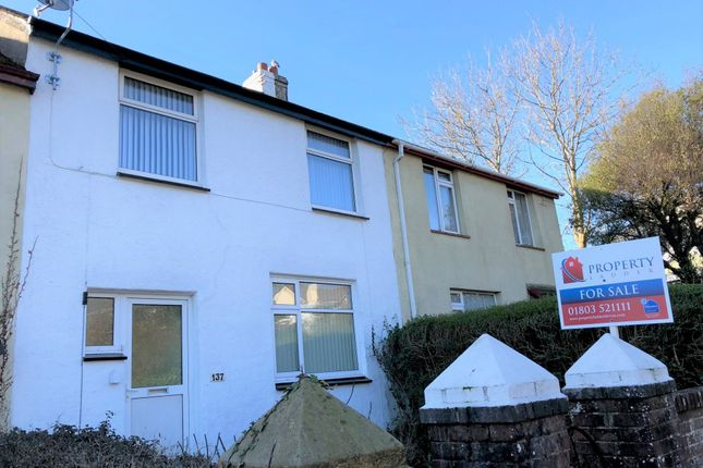 Thumbnail Terraced house for sale in Colley End Road, Paignton