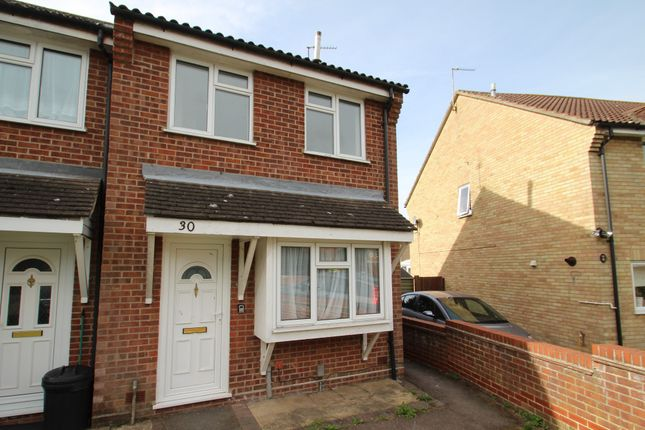 Thumbnail Terraced house to rent in Sinnington End, Colchester, Essex