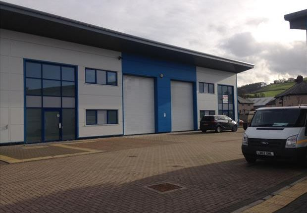 Light industrial to let in Unit 9, The Old Creamery, Mochdre, Colwyn Bay, Conwy