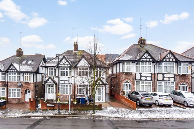 Thumbnail Semi-detached house to rent in Brunswick Road, London