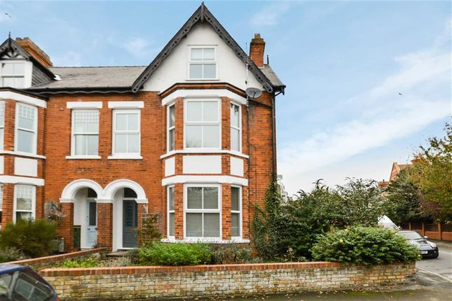 Thumbnail End terrace house for sale in Wilton Road, Hornsea, East Yorkshire