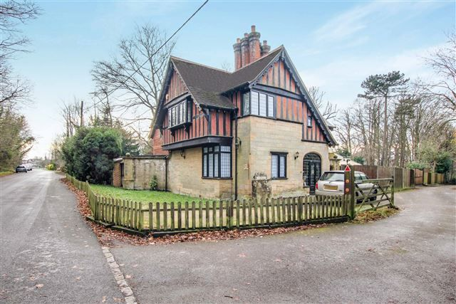 Thumbnail Detached house for sale in Cotsford, Old Brighton Road, Pease Pottage, Crawley
