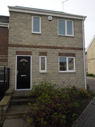 Thumbnail Town house to rent in Bracken Court, Kendray, Barnsley