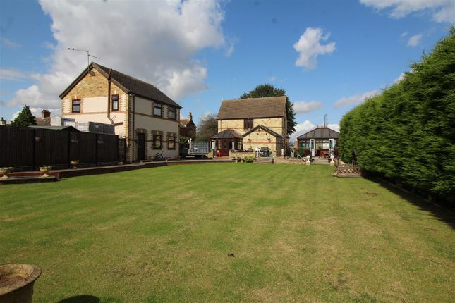 Thumbnail Detached house for sale in Broadway, Farcet, Peterborough