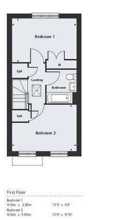 First Floor Plan of Plot 136 Stadium Road, Hall Green, Birmingham B28