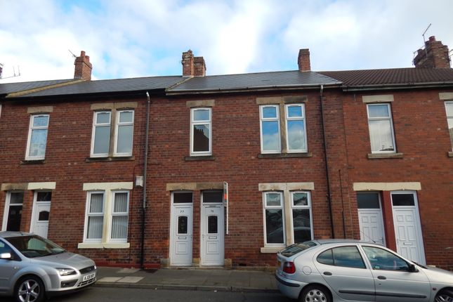Thumbnail Flat to rent in Norham Street, North Shields