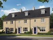 Thumbnail Terraced house for sale in The Alexius At St James Park, Off Cam Drive, Ely