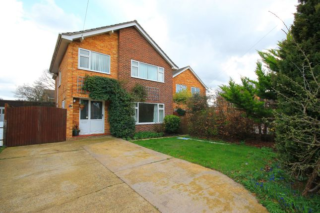 Thumbnail Detached house for sale in Cross Lane, Frimley Green, Camberley