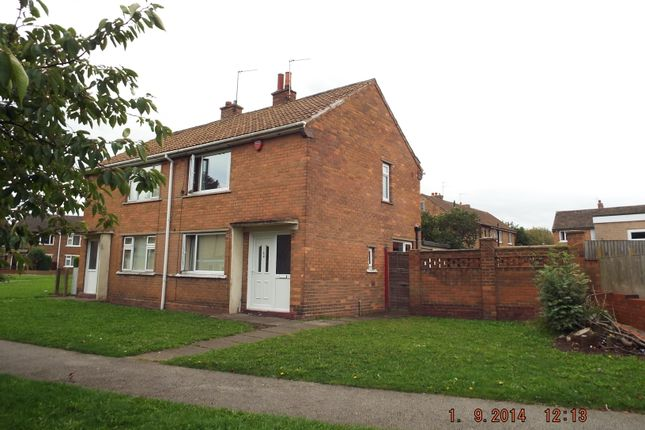Semi-detached house to rent in Churchfield Road, Campsall