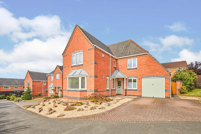 Thumbnail Detached house for sale in Thorpe Close, Stapenhill, Burton-On-Trent, Staffordshire