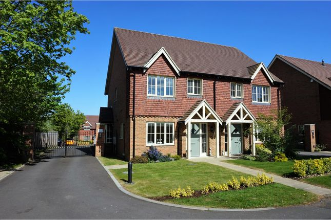 Thumbnail Semi-detached house for sale in Cemetery Lane, Ashford