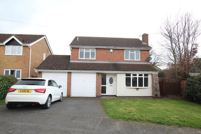 Thumbnail Detached house to rent in Halford Close, Whetstone, Leicester
