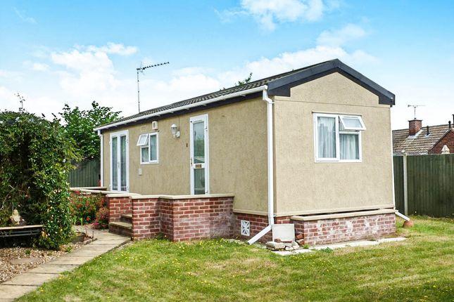 Thumbnail Mobile/park home for sale in Ashdale Park, London Road, Brandon