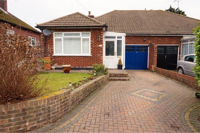 Thumbnail Semi-detached bungalow for sale in Hartlip Hill, Sittingbourne