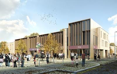 Thumbnail Retail premises to let in The Square At Brooklands, Unit 7, Fen Street, Brooklands, Milton Keynes
